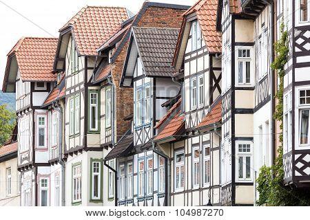 Historic half-timbered houses