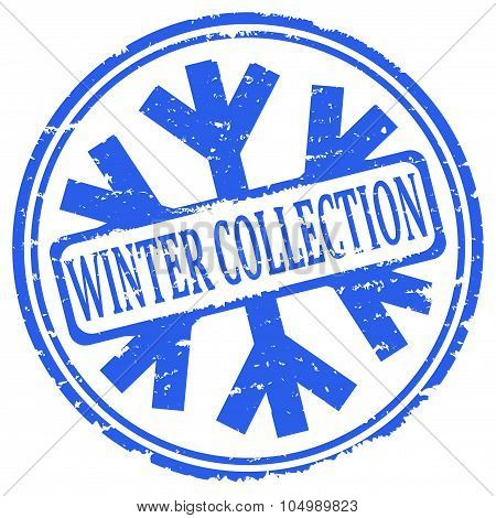 Damaged Blue Stamps - Winter Collection