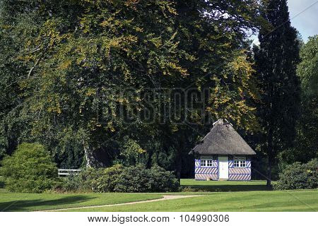 Cottage In A Park
