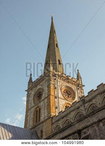 Holy Trinity Church In Stratford Upon Avon