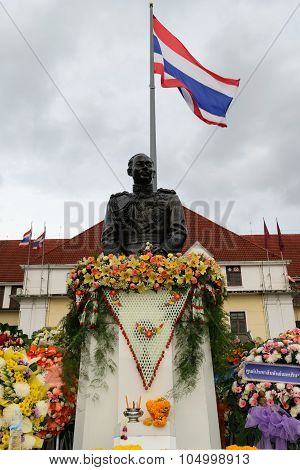 Honor The Previous Commander State Railway Of Thailand