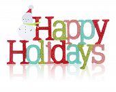 Happy Holidays Sign