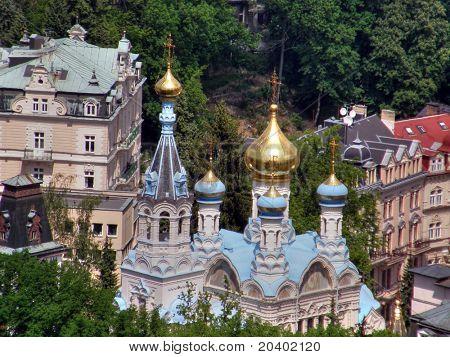 Karlovy Vary town.