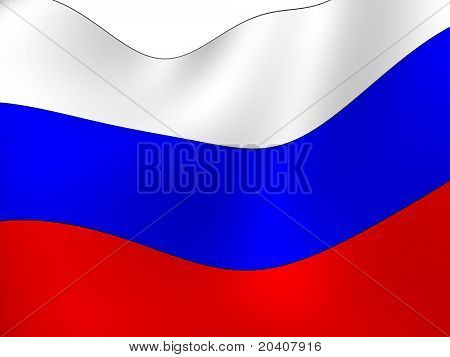 The Russian Federation. National Flag
