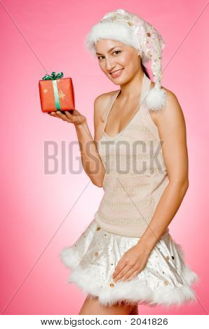 Santarina With Gifts