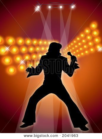 Male Singer And Dancer