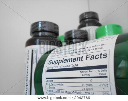 Vitamin Flaschen