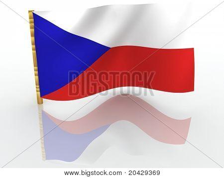 Czechia. National Flag