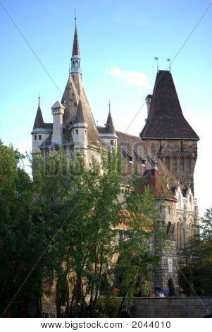 Fairy Tale Castle In Europe