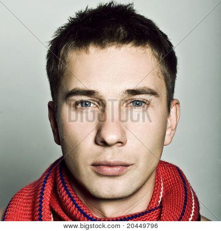 Portrait Beautiful Man