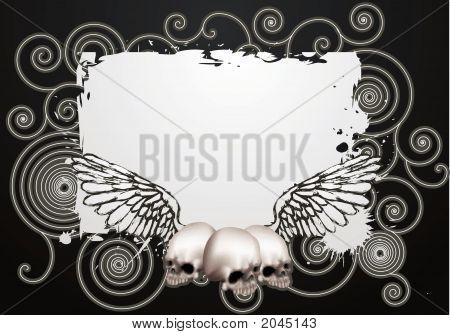 Skate Grunge Background