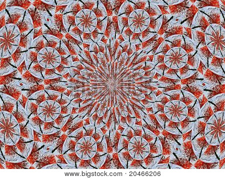 pattern red