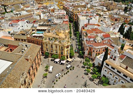 Seville - The streets around the cathedral