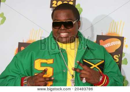 LOS ANGELES - MAR 29:  Sean Kingston arriving at the 2008 Nickelodeon's Kids' Choice Awards at UCLA Pauley Pavilion on March 29, 2008 in Westwood, CA