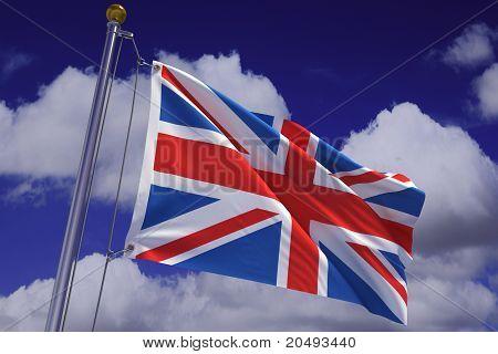 Waving Argentine Flag