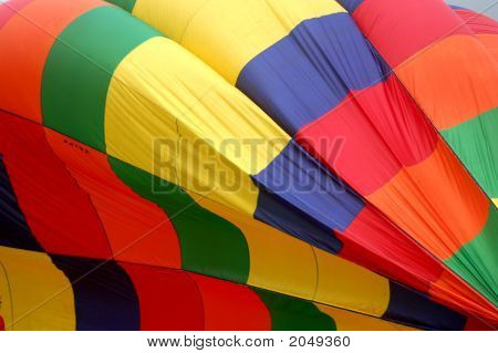 Hot Air Balloon Close Up