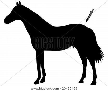 Inmunización para caballos