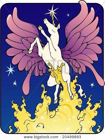Unicorn fairy
