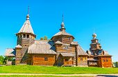 The Wooden Churches In Suzdal poster
