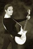 Guitar Girl 03 poster