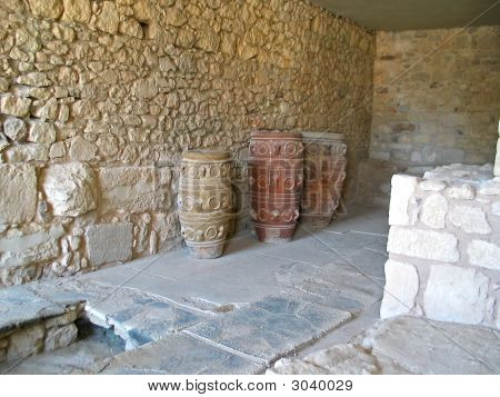 Ancient Crete Amphoras