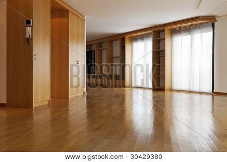 interior, beautiful apartment, open space