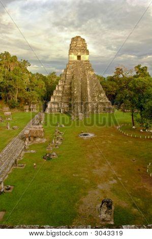 Temple Gran Jaguar At Tikal