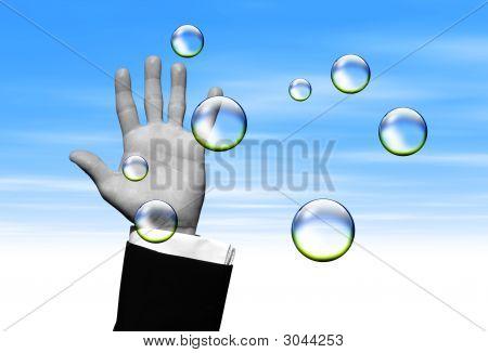 Atrapa burbujas