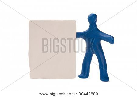 Plasticine people. You can place something in empty board