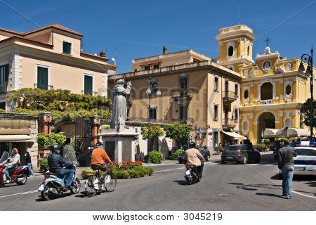 Piazza Sant Antonio, Sorrento, Italy