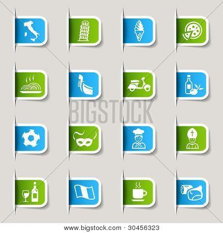 Label - Italian Icons