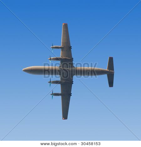 AN-12 - four-engined turboprop transport aircraft