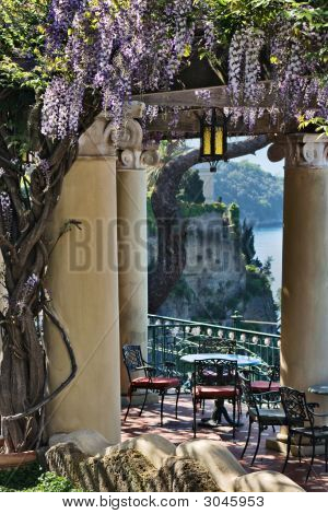 Terrace, Sorrento, Italy