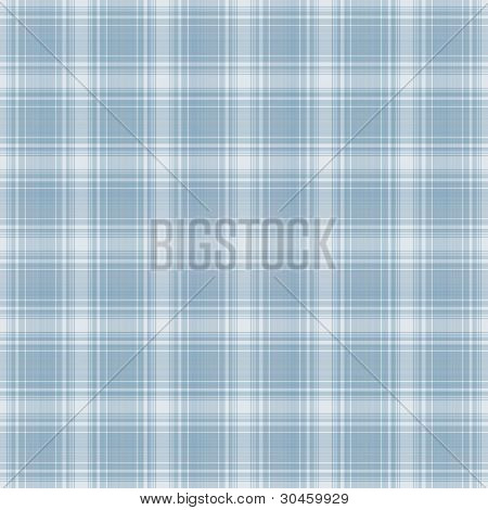 Seamless Light Blue & White Plaid Background