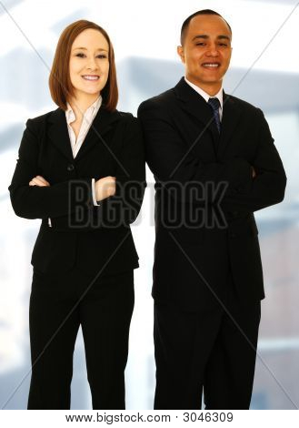 Business Team Standing