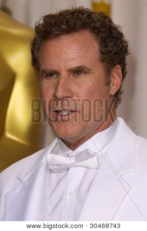 LOS ANGELES - FEB 26:  Will Ferrell arrives at the 84th Academy Awards at the Hollywood & Highland Center on February 26, 2012 in Los Angeles, CA.