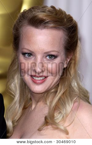 LOS ANGELES - FEB 26:  Wendi McLendon-Covey arrives at the 84th Academy Awards at the Hollywood & Highland Center on February 26, 2012 in Los Angeles, CA.