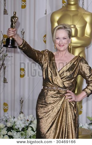 Los Angeles feb 26: Meryl Streep kommt der 84. Academy Awards an die Hollywood & Highland c