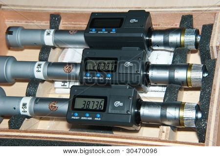 Three inside micrometer