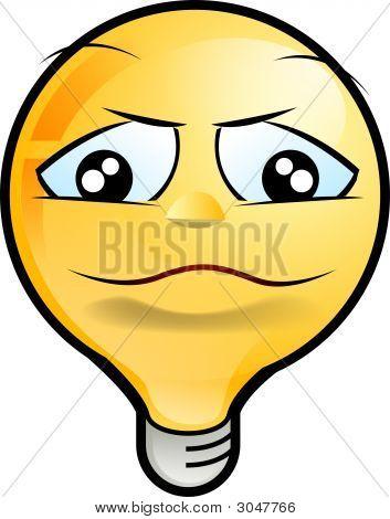 Lighting Bulb Icon - Shy