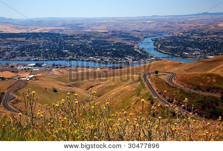 Lewiston Hill Snake River Idaho
