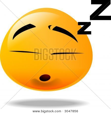 Smiley Icon - Sleep