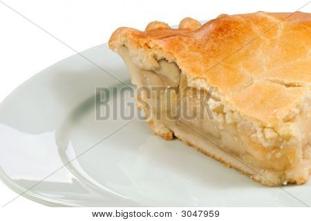 Apple Pie Close Up