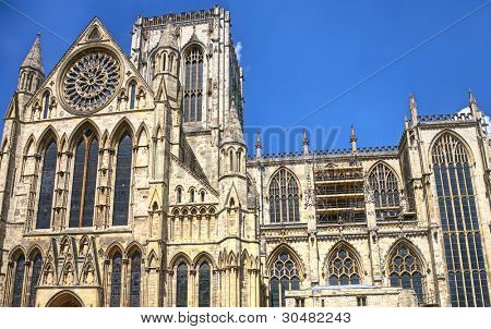 York Minster in York, England.