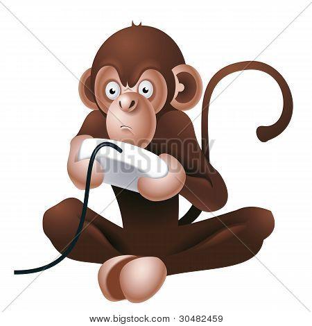 Gamer monkey