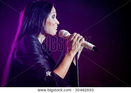 Tarja Turunen Performing Live at Aula Magna