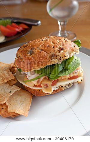 Sandwich de delicatessen