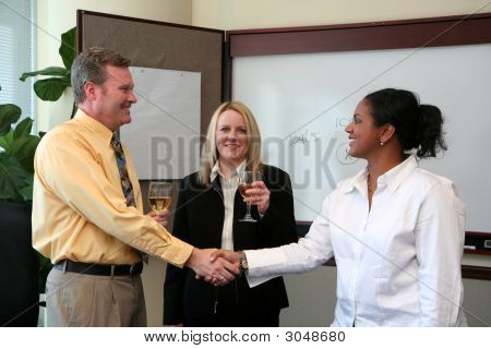 Business Team Celebration