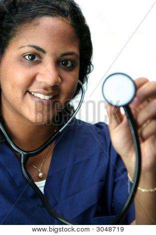 Enfermera de la minoría