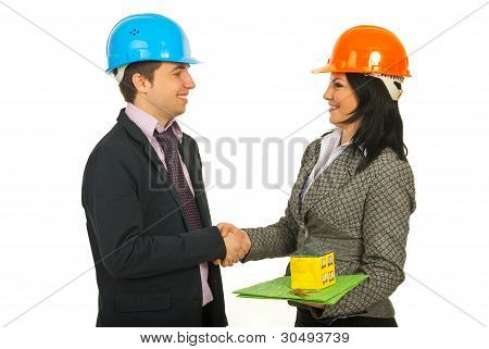 Architects Making A Deal